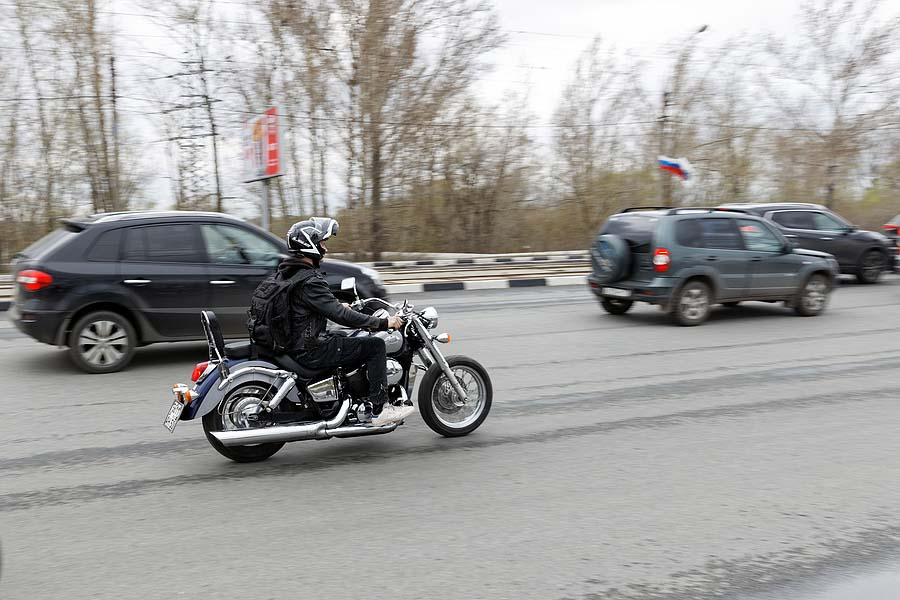 Sharing the Road: Watch for Motorcyclists